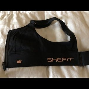 SHE FIT Black Exercise Bra (Ordered wrong size)